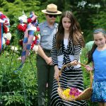 Gravesite Ceremony, Home of FDR NHS<BR>Memorial Day 2016